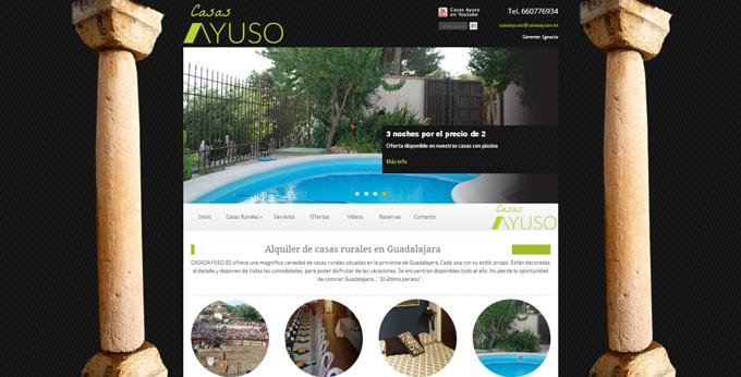 Casas-Ayuso---Casas-rurales-en-Hita-y-Peñalver,-Guadalajara