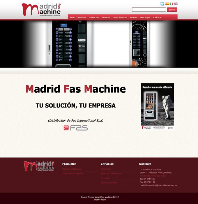 Madrid-Fas-Machine
