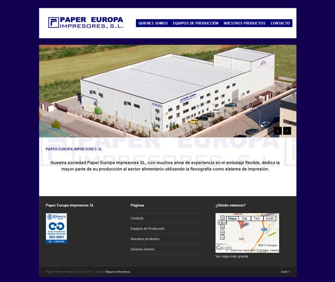 Paper-Europa-Impresores-SL---Servicios-de-embalaje-y-flexografía