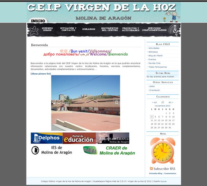 colegio_publico_virgen_de_la_hoz_pagina_web