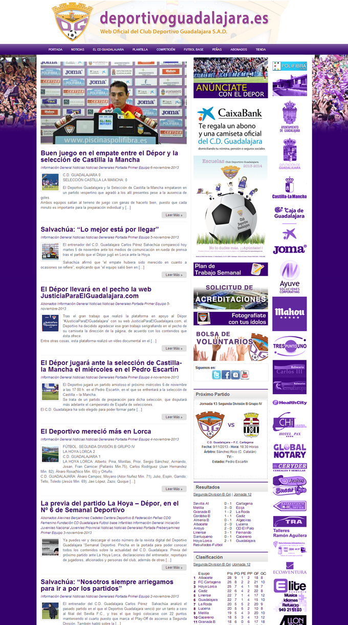 pagina_web_club_deportivo_guadalajara