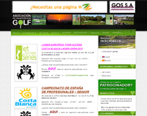 Voluntarios de Golf