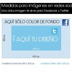 ¿Cuáles son las medidas perfectas para compartir imágenes en Facebook y Twitter?
