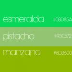 ¿Qué representa el color verde?