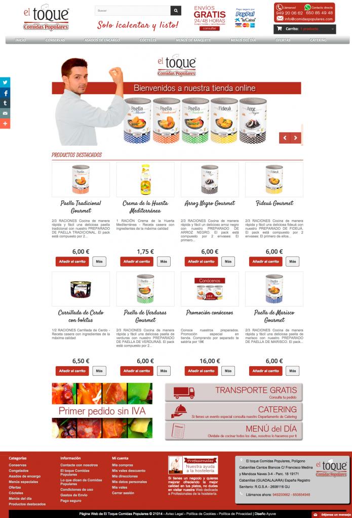 tienda-El-Toque-Comidas-Populares---Gastronomía-española---Tienda-Comidas-Populares