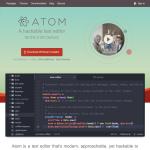Primeros pasos con el editor de código ATOM