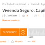 Ayuve ha participado en el programa «Viviendo Seguro» de Radio Creactividad
