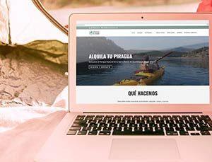 Web de Piraguas El Vado