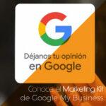 Pegatinas, pósters y mucho más con el Marketing Kit de Google My Business